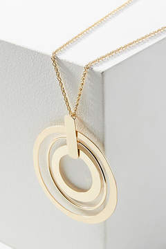 Anthropologie Concentric Circles Necklace