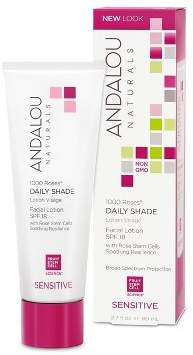 Andalou Naturals 1000 Roses Daily Shade Facial Lotion with SPF 18 - 2.7 Fl Oz