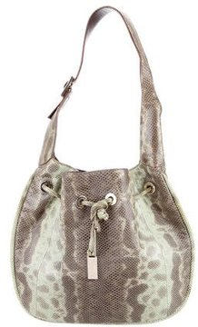 Gucci Lizard Hobo Bag - ANIMAL PRINT - STYLE