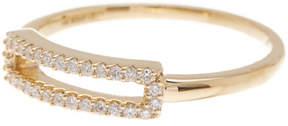 Bony Levy 18K Yellow Gold Single Bar Cutout Ring