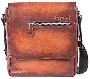 Bugatti Domus Genuine Leather Cross-Body Bag