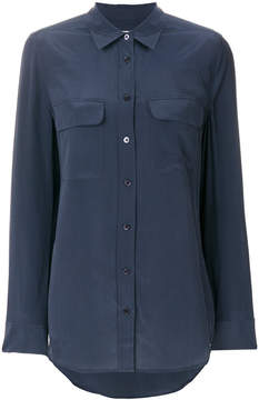 Equipment button-down blouse