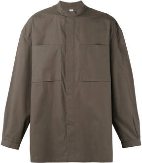 E. Tautz banded collar shirt