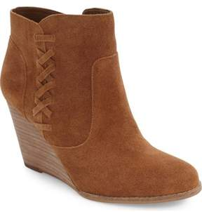 Jessica Simpson Women's CHAREE Ankle Bootie CANELA BROWN,7