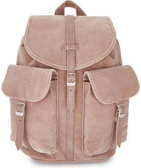 Herschel Dawson velvet mini backpack