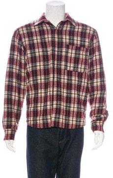 Umit Benan Wool Flannel Shirt