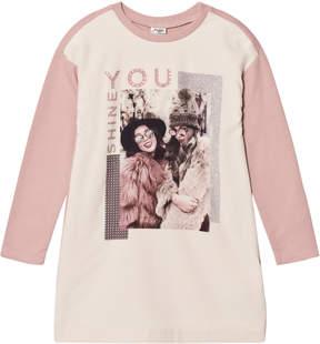 Mayoral Pink Fashion Girl Print Dress