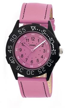 Crayo Fun Collection CRACR2508 Unisex Watch with Leather Strap