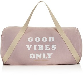 Spiritual Gangster Good Vibes Only Gym Bag