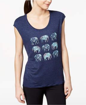 Gaiam Dani Graphic Elephant T-Shirt
