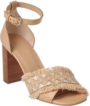 Pour La Victoire Havana Leather Sandal