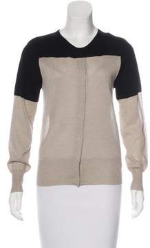 Dries Van Noten Wool Metallic-Accented Cardigan w/ Tags