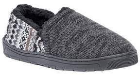 Muk Luks Slippers Mens Christopher Pull On M 10-11 Black 0016824