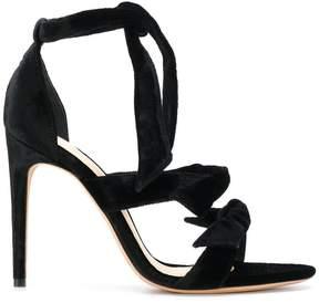Alexandre Birman tie front heeled sandals
