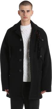 Damir Doma Oversized Double Wool Blend Coat