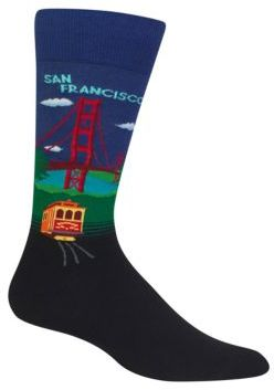 Hot Sox San Francisco Printed Socks