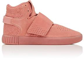 adidas Women's Tubular Invader Strap Suede Sneakers