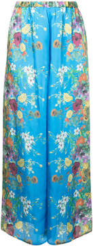 Aula floral palazzo trousers