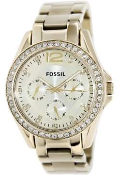 Fossil Women's ES3203 Riley Stainless Steel Watch, 37mm