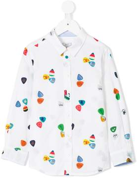 Paul Smith plectrum print shirt