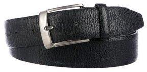 Ermenegildo Zegna Leather Dress Belt