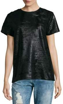 Cynthia Rowley Burnout Short-Sleeve Tee