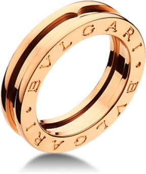 Bulgari Bvlgari B. Zero 1 18K Rose Gold 1 Band Ring AN852422
