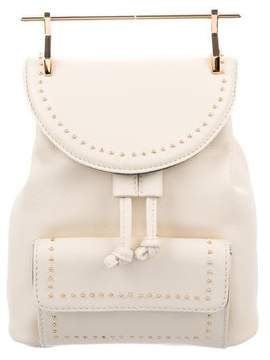 M2Malletier Studded Mini Leather Backpack