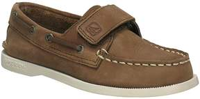 Sperry A/O Boys Hook-and-Loop Boat Shoes