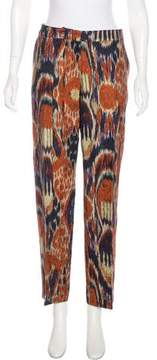 Dries Van Noten Patterned Straight-Leg Pants