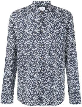 Paul Smith floral foliage print shirt