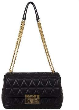 Michael Kors Sloan Crossbody Quilted - BLACK - STYLE