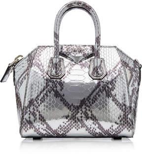 Givenchy Antigona Python Shoulder Bag