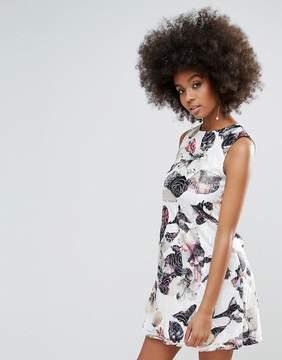 AX Paris Floral Printed Shift Dress