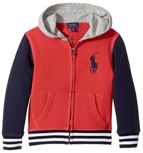 Polo Ralph Lauren Cotton French Terry Jacket Boy's Coat