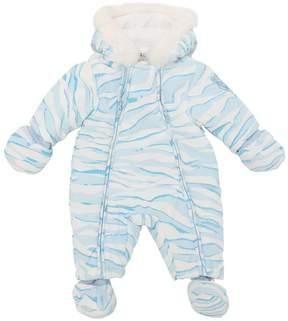 Kenzo Tiger Baby Bunting W/ Faux Fur
