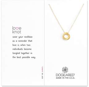 Dogeared Love Knot Necklace Necklace