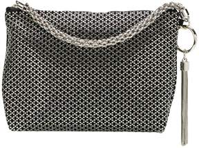 Jimmy Choo Callie diamond motif crystal hotfix clutch