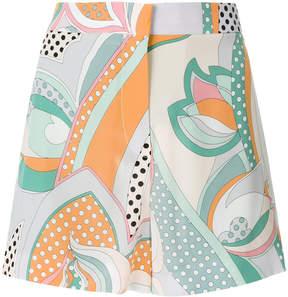 Emilio Pucci signature printed shorts