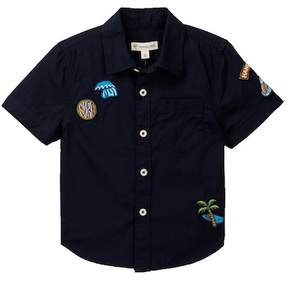 Tucker + Tate Surf Badge Shirt (Toddler & Little Boys)