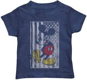 Disney Disney's Mickey Mouse Toddler Boy Flag Graphic Tee