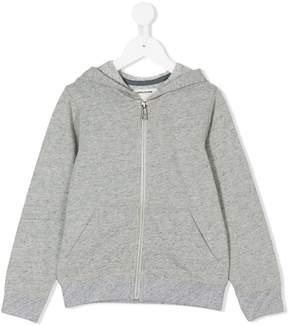 Zadig & Voltaire Kids logo print hoodie