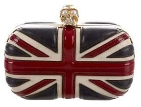 Alexander McQueen Britannia Skull Clutch