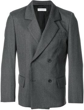 Gosha Rubchinskiy button up suit jacket