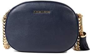 Michael Kors Medium Ginny Shoulder Bag - BLUE - STYLE