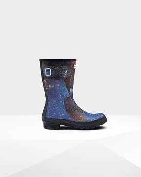 Hunter Women's Original Short Space Camo Rain Boots