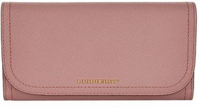 Burberry Kenton Leather Continental Wallet - PINK - STYLE