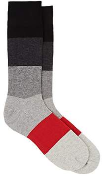 Corgi Men's Colorblocked Cotton-Blend Mid-Calf Socks