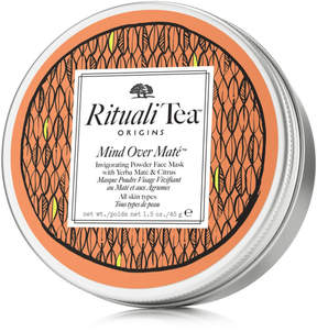 Origins RitualiTea Mind Over Mate Invigorating Powder Face Mask with Yerba Mate & Citrus