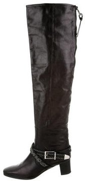 Barbara Bui Leather Over-The-Knee Boots